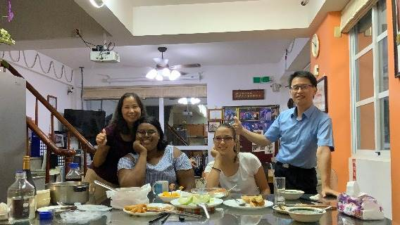 KSU Department of Environmental Engineering Professor Invites International Students to House for Some Delicious Home Cooking