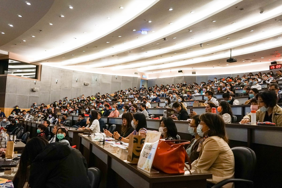 05.與會來賓坐滿國際會議廳